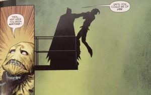 Batman and Robin Eternal 14 Bat and Crow