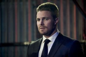 "Arrow -- ""Code of Silence"" -- Image AR414b_0118b.jpg -- Pictured:  Stephen Amell as Oliver Queen -- Photo: Katie Yu/ The CW -- © 2016 The CW Network, LLC. All Rights Reserved."