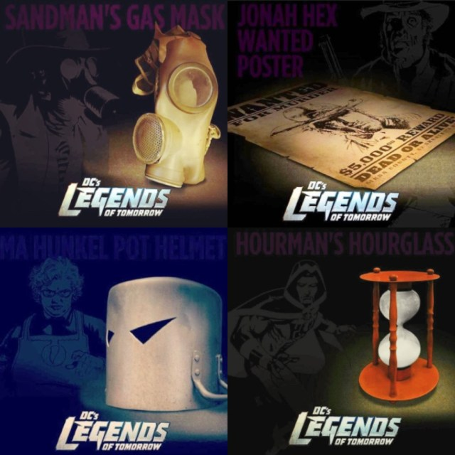 Legend of tomorrow Easter eggs
