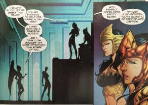 Earth 2 12 Kendra and the Amazons