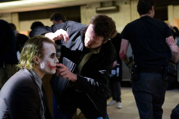 joker heath ledger dc comics news makup