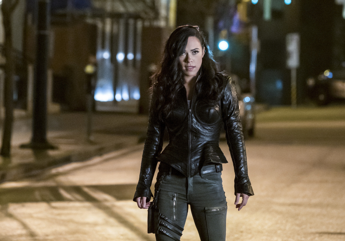 """The Flash -- """"Attack on Central City"""" -- FLA314a_0205b.jpg -- Pictured:  Jessica Camacho as Gypsy -- Photo: Katie Yu/The CW -- © 2017 The CW Network, LLC. All rights reserved."""
