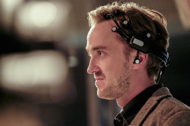 """The Flash -- """"The Wrath of Savitar"""" -- FLA315a_0083b.jpg -- Pictured: Tom Felton as Julian Albert -- Photo: Bettina Strauss/ The CW -- © 2017 The CW Network, LLC. All rights reserved."""