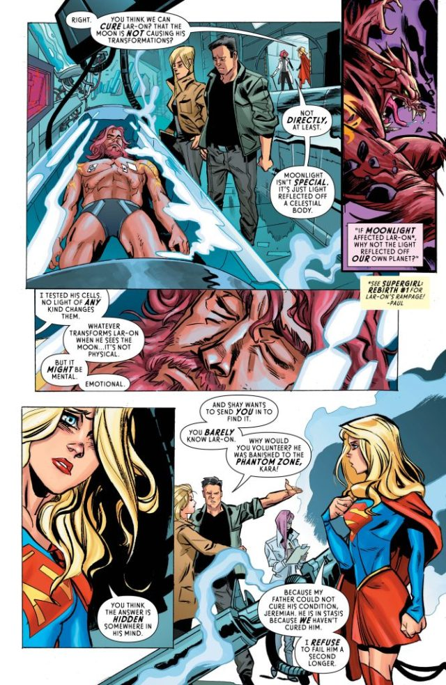 Review Supergirl #7