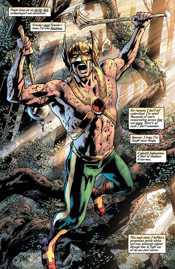 Hawkman 3_1 - DC Comics News