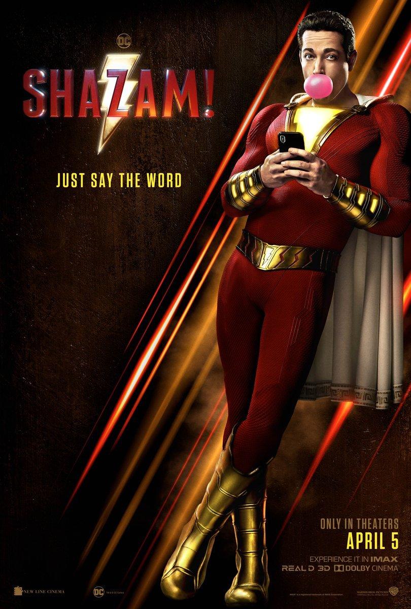 New Shazam poster dc comics news