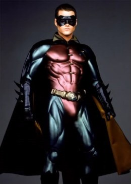 Chris O'Donnell as Dick Grayson/Robin