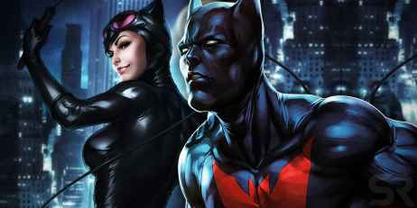 Terry McGinnis is the 'son' of Catwoman