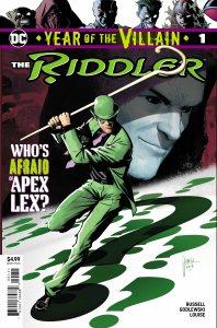 The Riddler YOTV cover