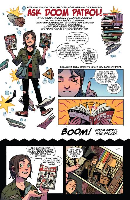 Review Doom Patrol Weight Of The Worlds 5 Dc Comics News