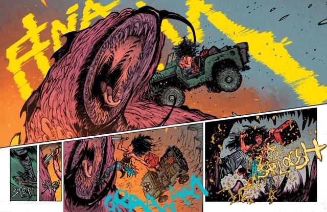 """Wonder Woman: Dead Earth #2 """"First Look"""""""