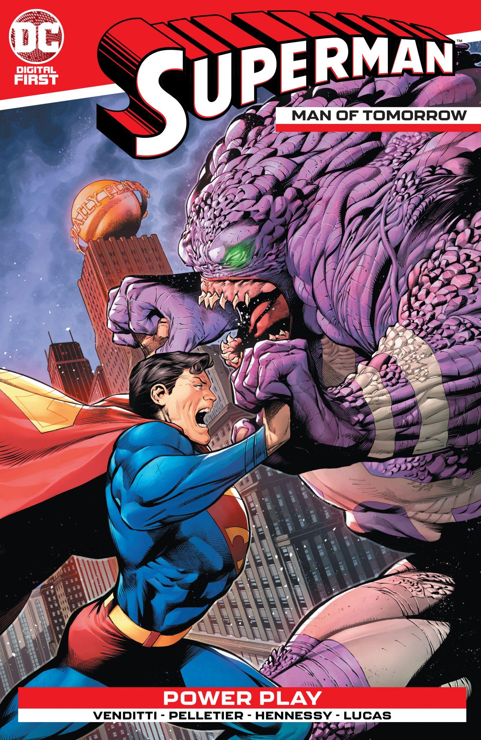 SUPERMAN: THE MAN OF TOMORROW #1