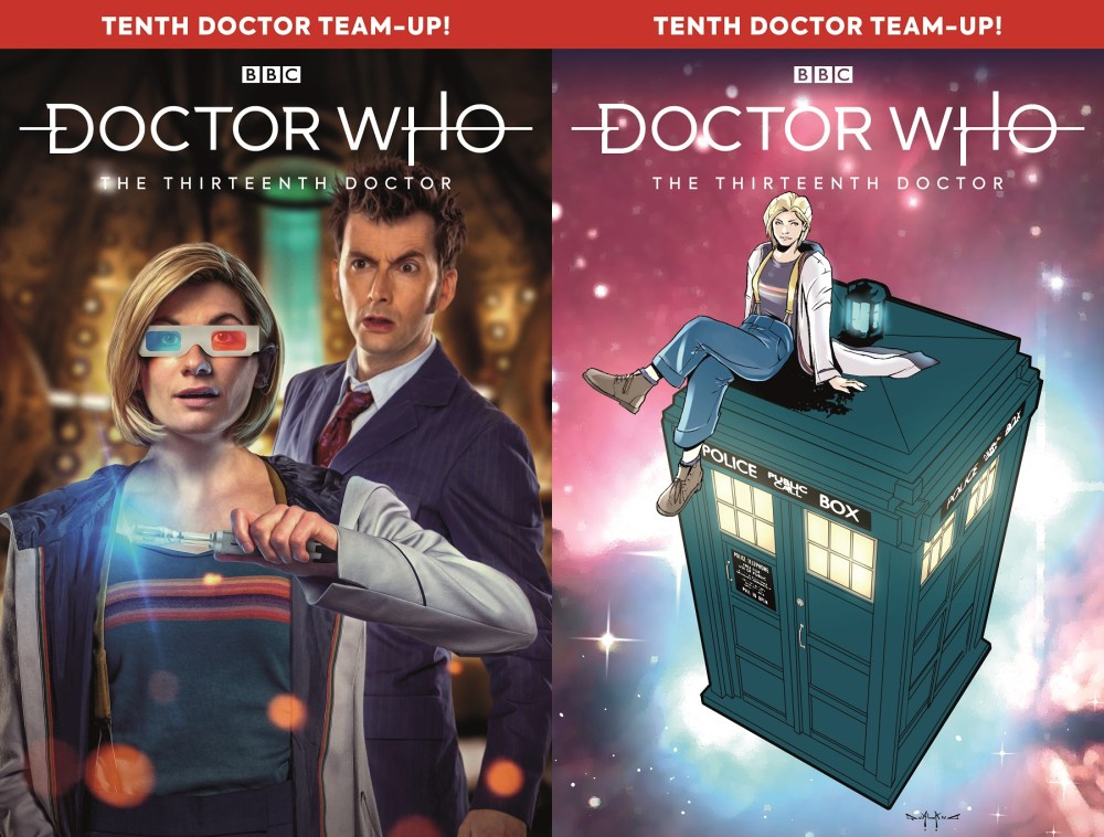 The 13th Doctor #2.4 Covers B and C