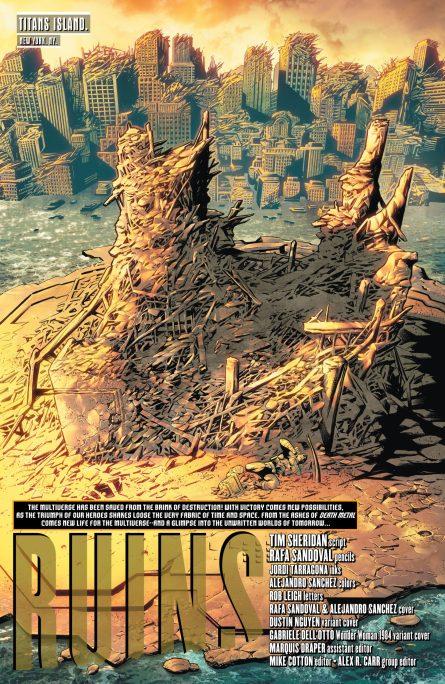 Future State Teen Titans 1 p1 DC Comics News