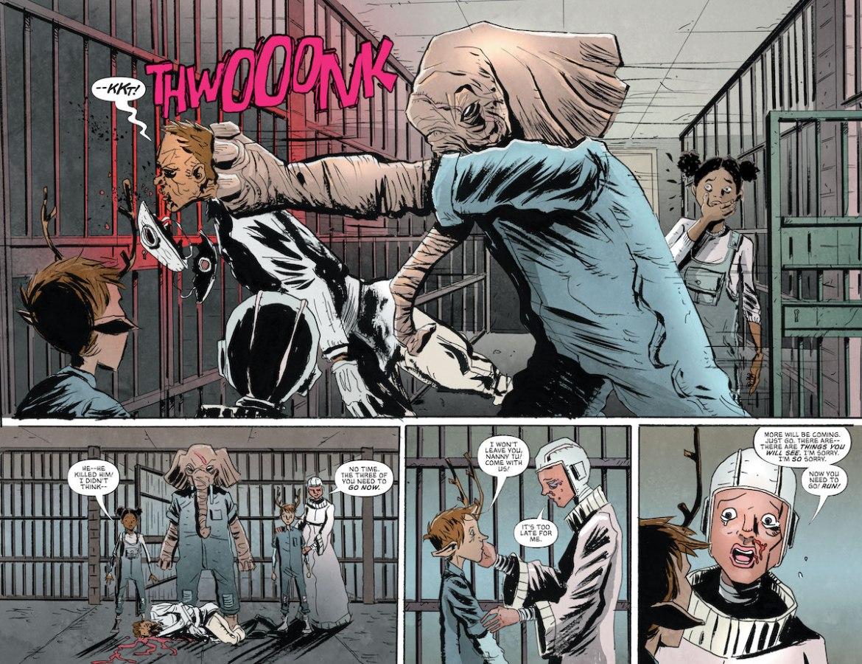 Earl-Smashes-A-Guard-To-Protect-Gus-Penny-And-Nanny-Tu-DC-Comics-News-Reviews