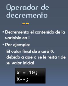 dCodinGames - El operador de decremento