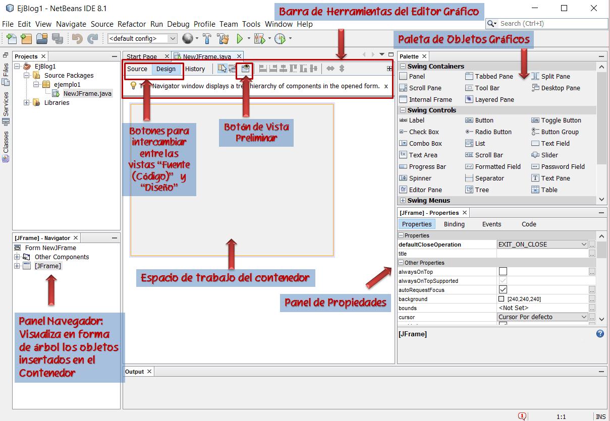 dCodinGames - Editor Gráfico de Netbeans