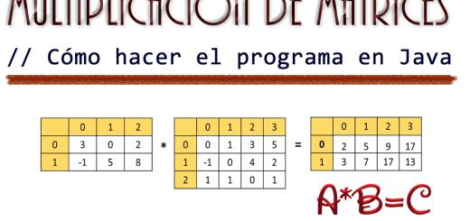 dCodinGames - Multiplicación de Matrices