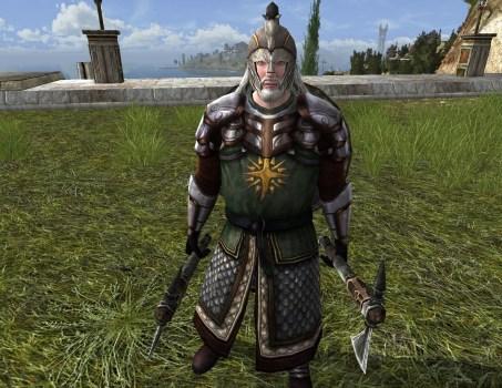 Garde de propriété Chevalier Rohirrim