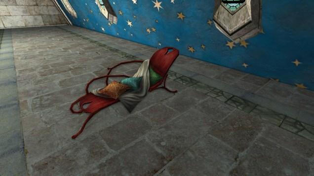 chaise longue rouge 2