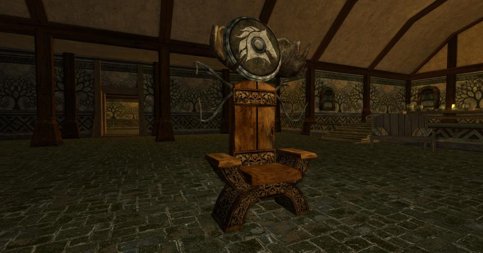 chaise et bouclier des R4