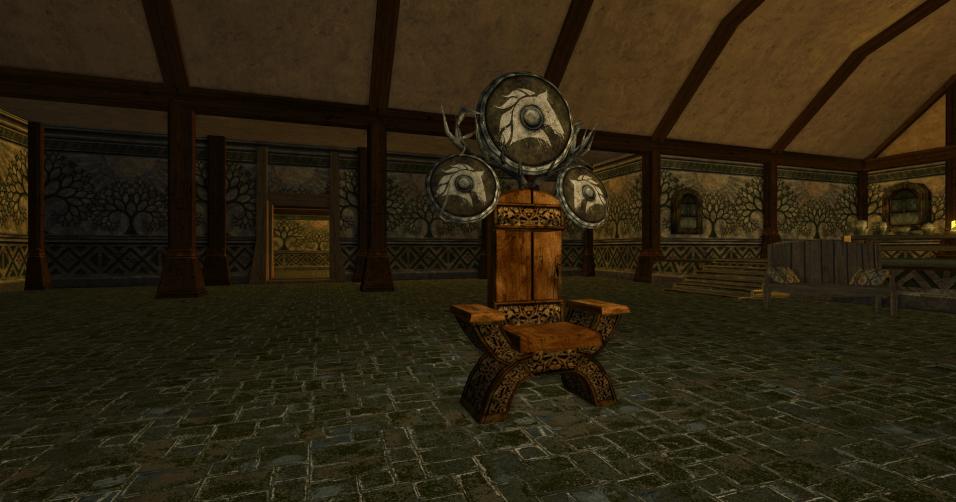 chaise et grand bouclier des R4