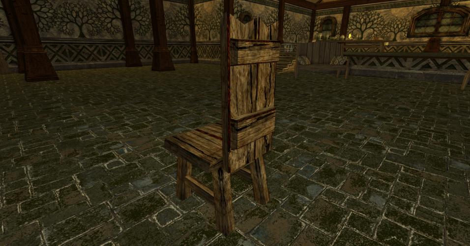 chaise grossière des r3