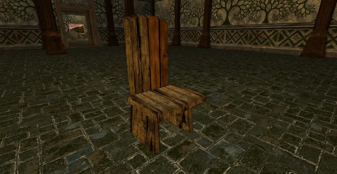 Chaise simple des Rhorrim