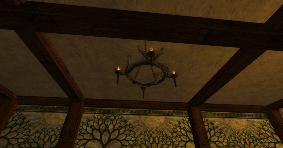 petit chandelier en ramures des R