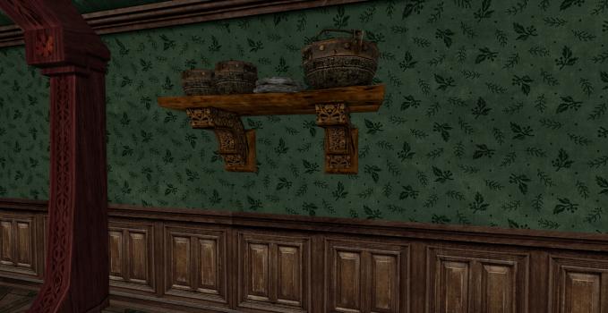 Petite étagère de pots des Rohirrim