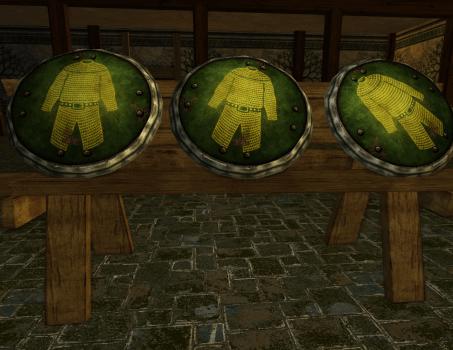 Râtelier de boucliers du Plateau