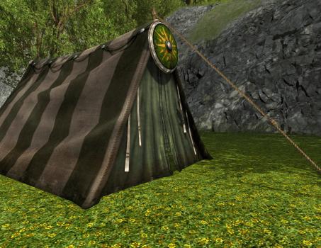 Tente des Norcrofts