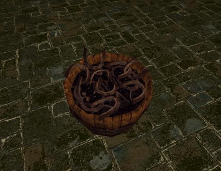 Tonneau de fer à cheval des Rohirrim