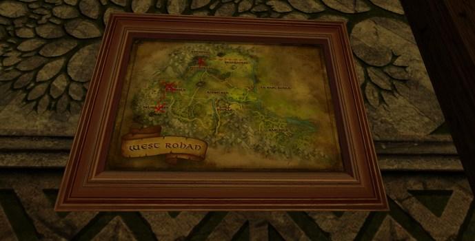 Petite carte de Bingo dans le Rohan Ouest