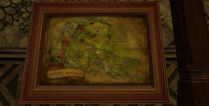 Grande carte de Bingo dans le Rohan Ouest