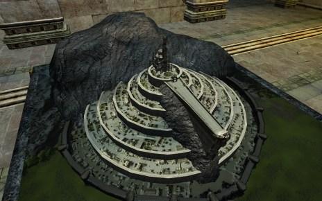 Maquette de Minas Tirith Intacte