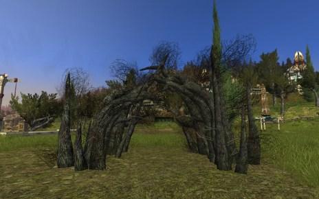 Arche de racines Wose