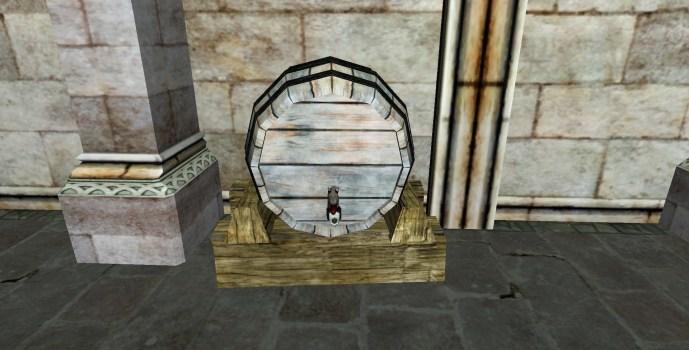 Tonnelet percé du Gondor