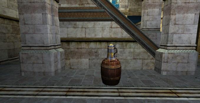 Chope à bière du vainqueur