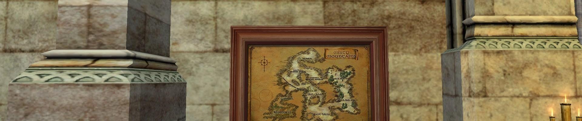 Carte des Monts Brumeux
