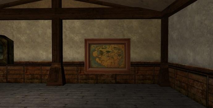 Carte de l'Eriador