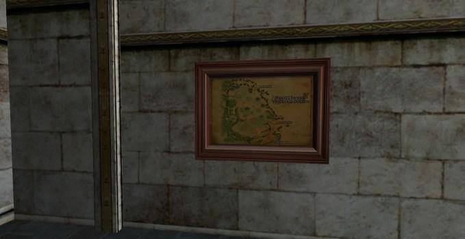 Carte des Hauts des Galgals Nord