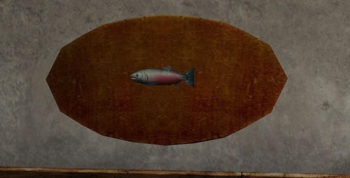 Trophée : Saumon de 1 kilo