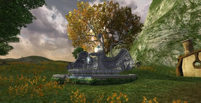 Fontaine de Cygne