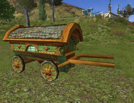 Chariot de Hobbit Vert