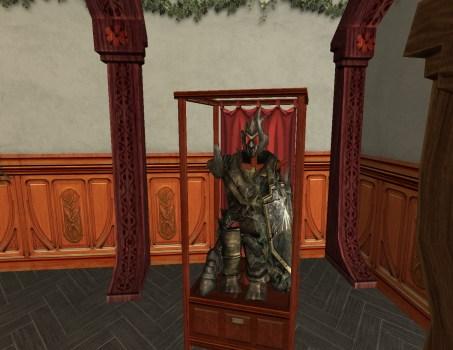 Armure du Général Talug exposée