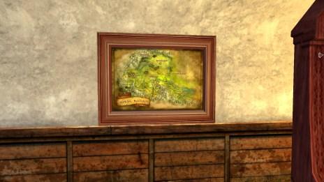 Petite carte de l'Ouest du Rohan