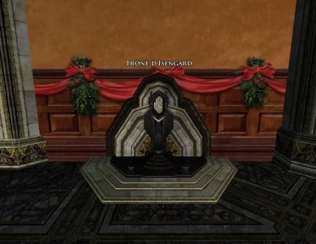 Trône d'Isengard