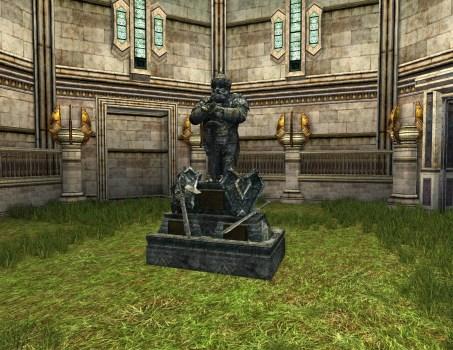 Monument dédié à Thorin, Fili et Kili