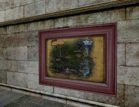 Grande Carte du Nord de la Forêt Noire